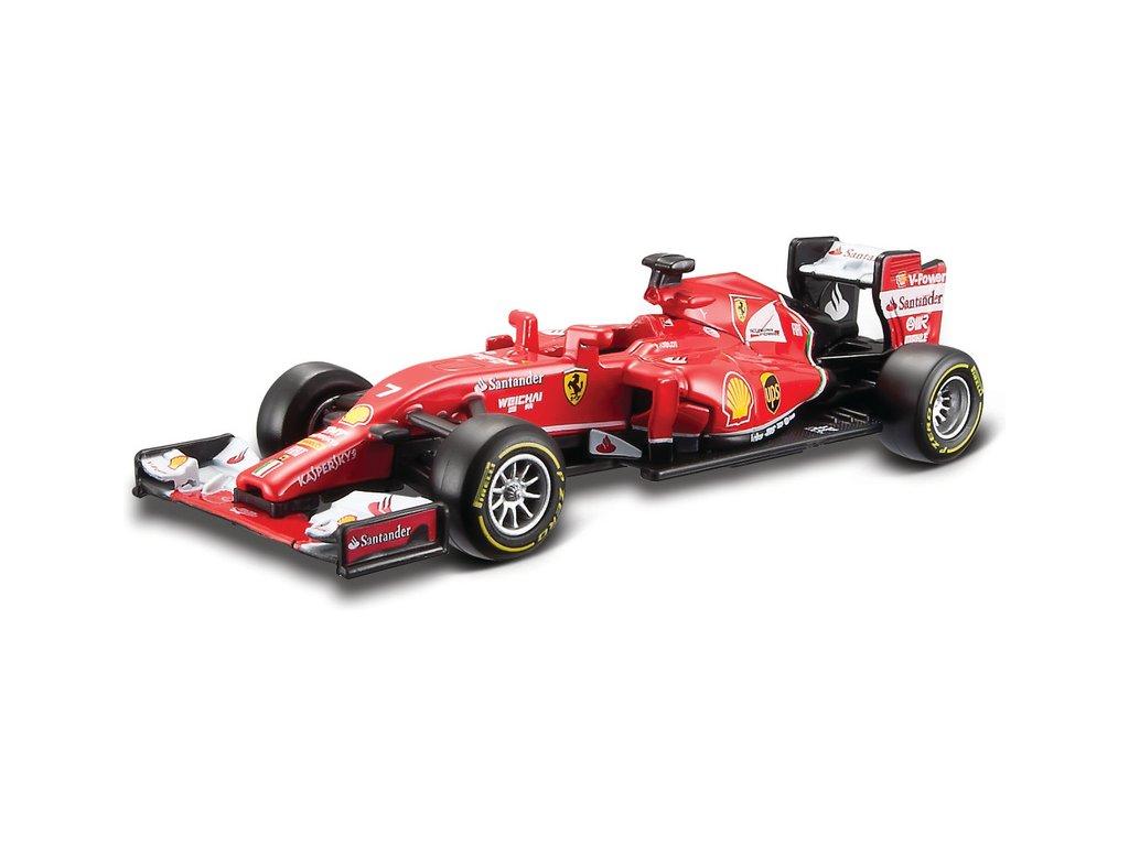 Bburago Ferrari formule F14-T 1:43 #7 Raikkonen