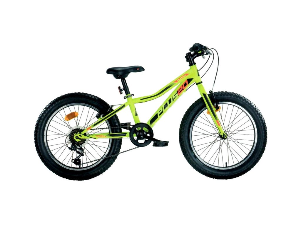 """DINO Bikes - Dětské kolo 20"""" Aurelia 420 zelená"""