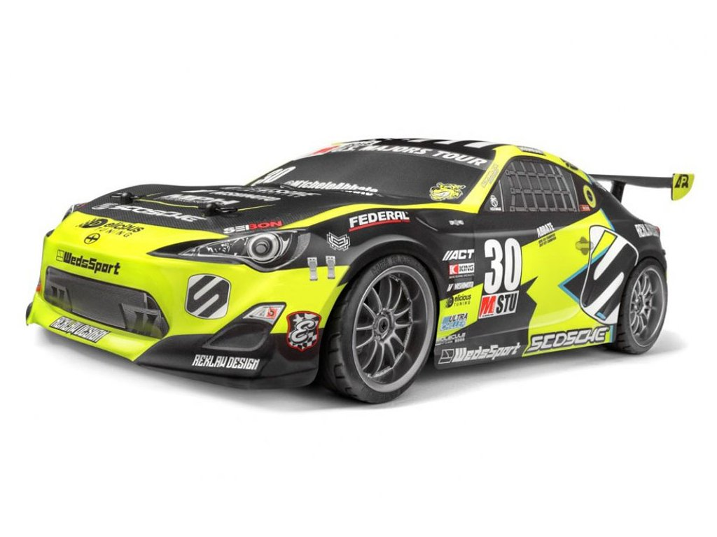 "HPI E10 TOURING ""Michele Abbate Grrrracing"" 4WD RTR 1:10"