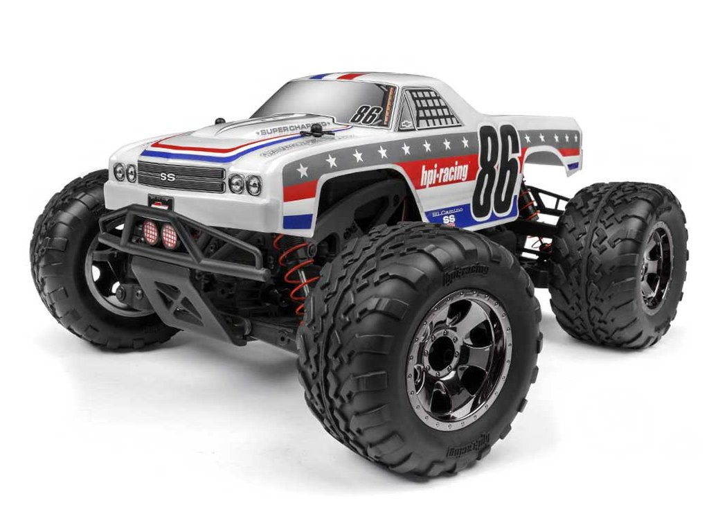 "HPI SAVAGE XS FLUX ""Chevrolet Ei Camino SS"" 4WD RTR 1:14"