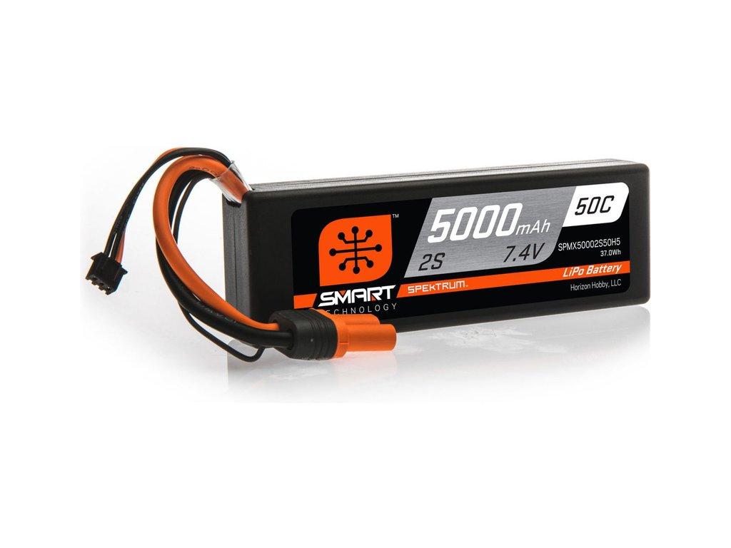 SPEKTRUM SMART CAR LIPOL 5000mAh 50C 7.4V