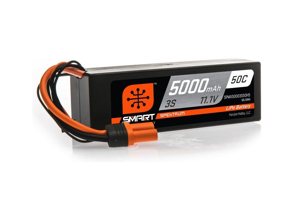 SPEKTRUM SMART CAR LIPOL 5000mAh 50C 11.1V