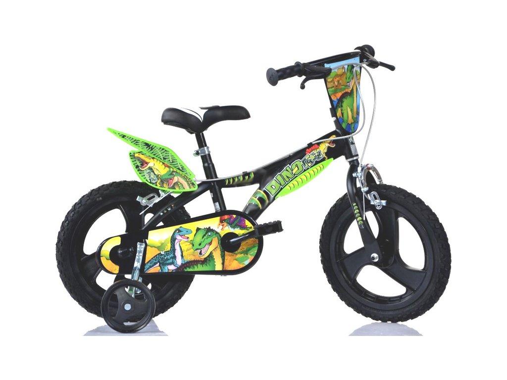 "DINO Bikes - Dětské kolo 16"" Dino T.Rex"