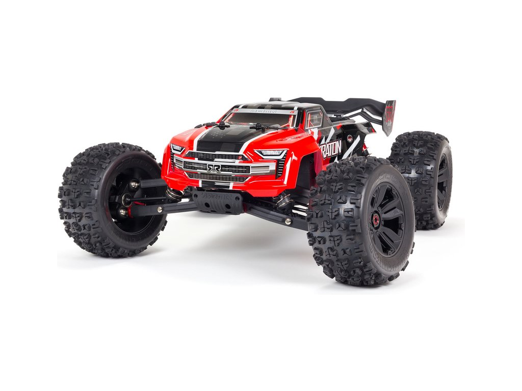 Arrma Kraton 6S BLX 1:8 4WD RTR ďż˝ervenďż˝