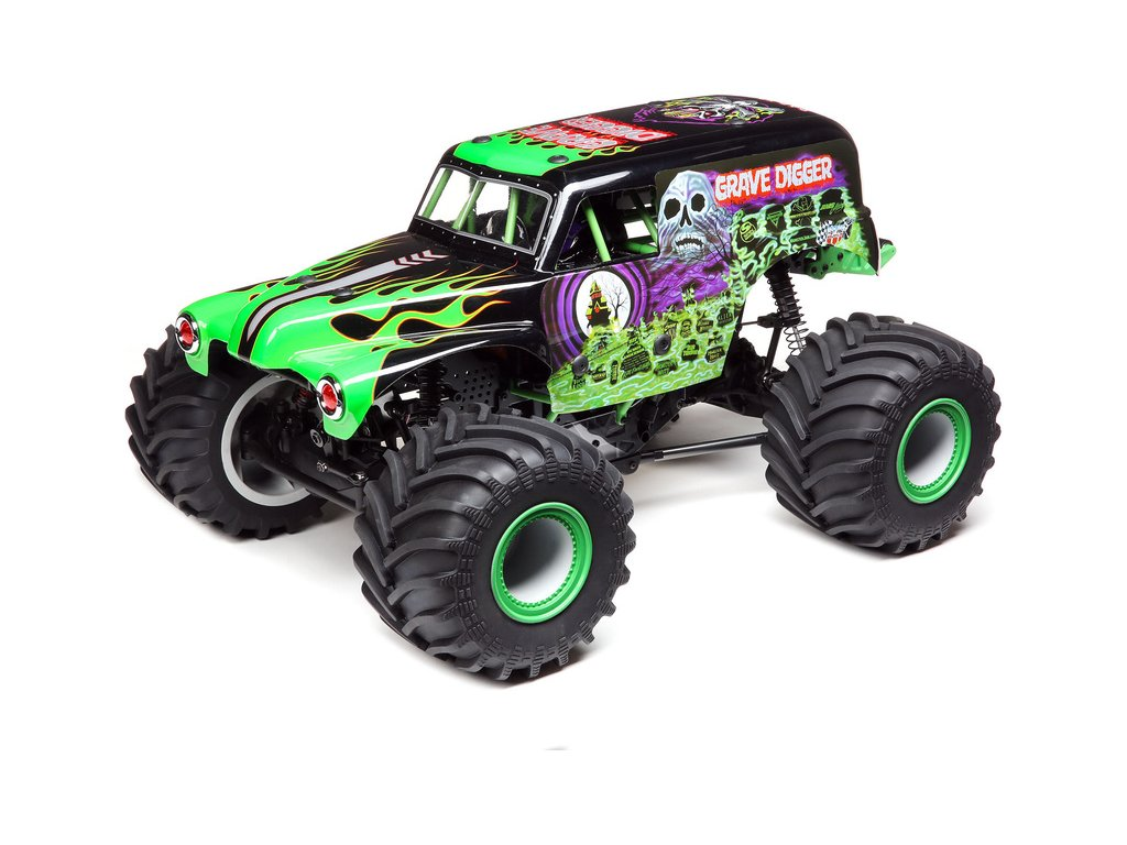"""LOSI LMT MONSTER TRUCK """"Grave Digger"""" 4WD RTR 1:8"""