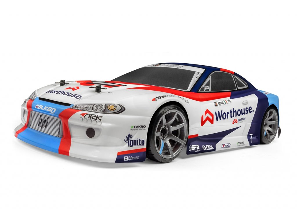 """HPI RS4 SPORT 3 DRIFT NISSAN S15 """"Worthouse James Dean"""" 4WD RTR 1:10"""