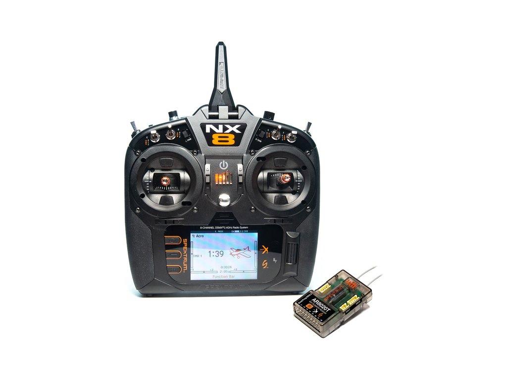 SPEKTRUM NX8 DSMX + AR8020T