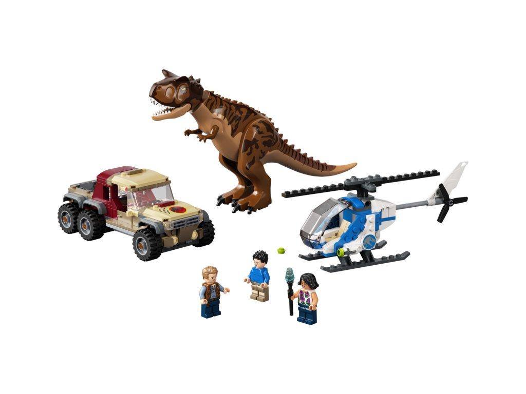 LEGO Jurský Park - Hon na carnotaura
