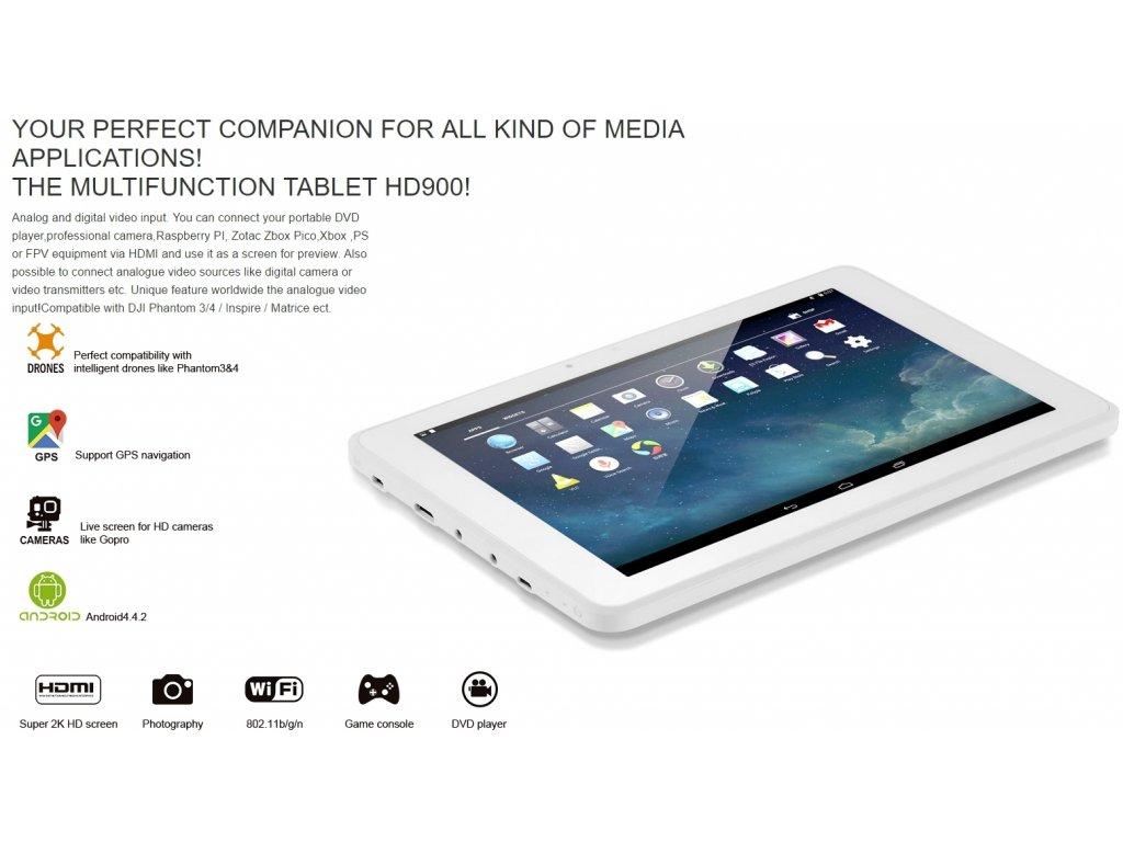 TABLET FLYSIGHT VISOON HD900