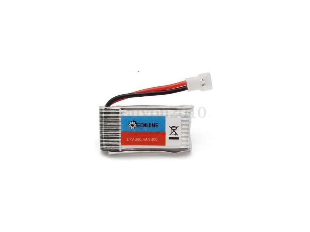 Baterie Lipol 260mAh 30C 3.7V