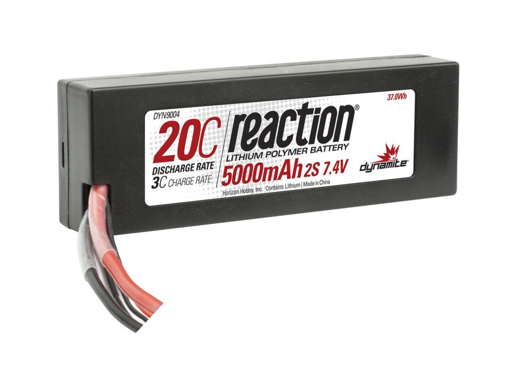 DYNAMITE REACTION LIPOL 5000mAh 20C 7.4V