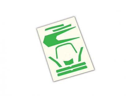 Aton: Samolepky zelené