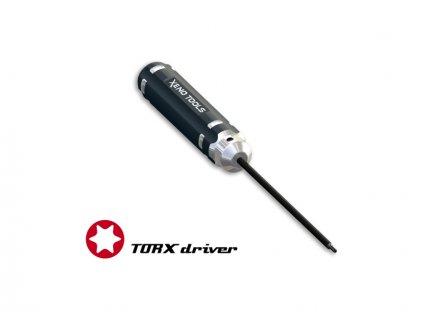 Šroubovák torx CNC T8