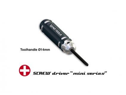 Xeno Tools mini šroubovák křížový Phillips PH0-1