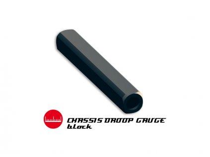 Blok pod šasi pro měření propadu ramen 1:10 10mm