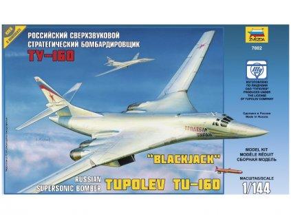 Zvezda Tupolev TU-160 Russian Strategic Bomber (1:144)