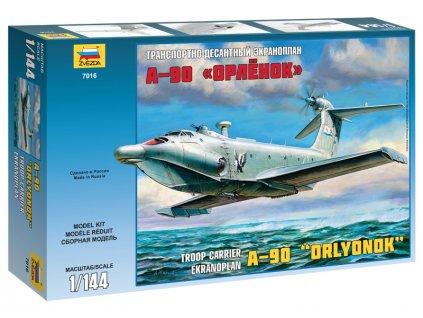Zvezda Ekranoplan A-90 (1:144)