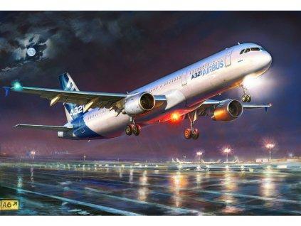 Zvezda Airbus A-321 (1:144)