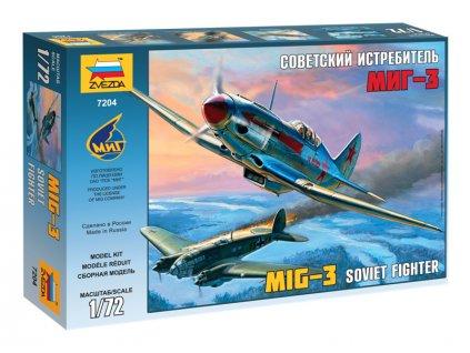 Zvezda MIG-3 Soviet Fighter (1:72)