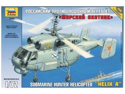 Zvezda Kamov KA-27 Submarine Hunter (1:72)