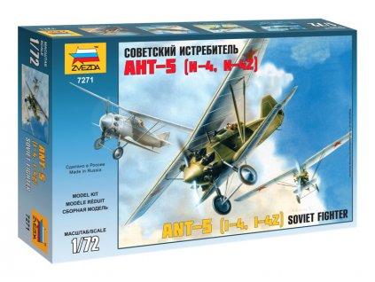Zvezda letadlo Tupolev ANT-5 (1:72)