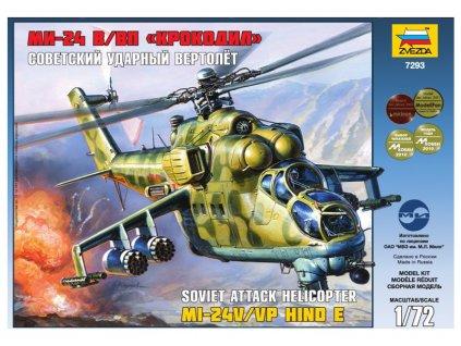 Zvezda MIL MI-24V/VP Hind E (1:72)