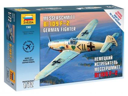 Zvezda Easy Kit Messerschmitt B-109 F2 (1:72)