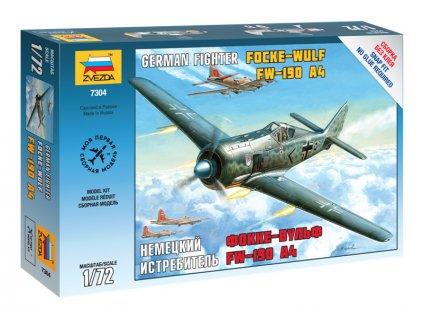 Zvezda Easy Kit FockeWulf 190 A4 (1:72)
