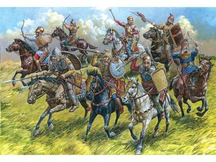 Zvezda figurky Scythian Cavalry (1:72)