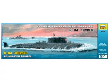 Zvezda Nuclear Submarine APL Kursk (1:350)