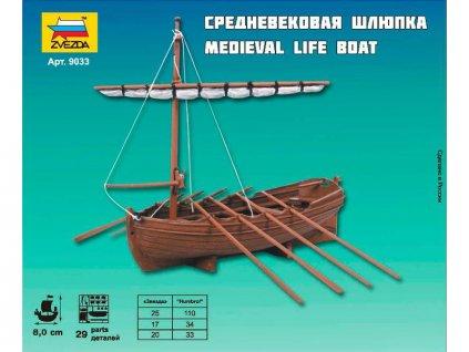 Zvezda Medieval Life Boat (1:72)