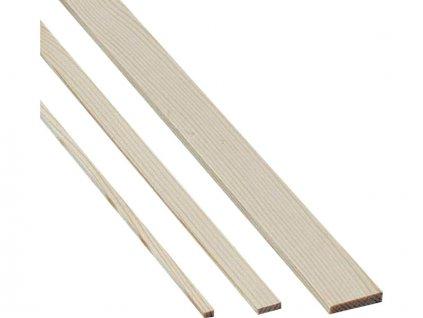 Krick Lišta borovice 5x5mm 1m (10)