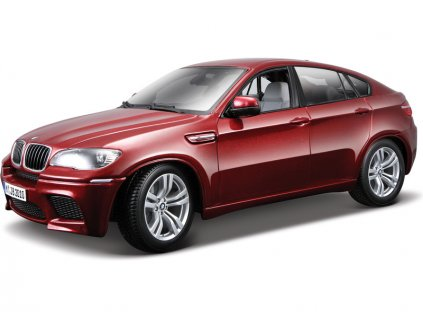 Bburago 1:18 BMW X6 M červená