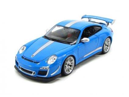 Bburago 1:18 Plus Porsche 911 GT3 RS 4.0 modrá