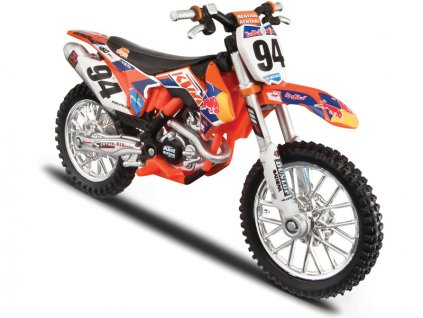 Bburago 1:18 Motorka Red Bull KTM Rally Dakar #1