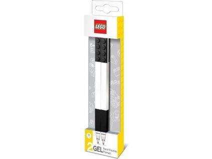 LEGO Gelové pero, černé - 2 ks