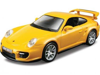 Bburago Porsche 911 GT2 1:32 žlutá