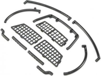 ECX 1.9 Barrage D: Ochranné mřížky, držák nárazníku