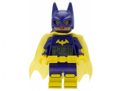 LEGO Batman Movie hodiny s budíkem Batgirl