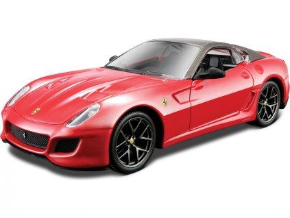 Bburago Kit Ferrari 599 GTO 1:32 červená