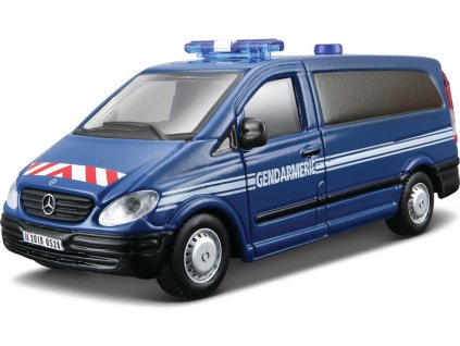 Bburago Mercedes-Benz Vito 1:50 modrá