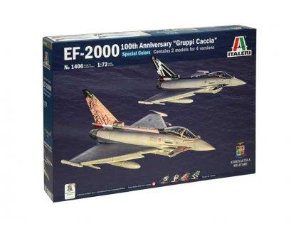 Italeri Eurofigter EF-2000 100. výročí italského letectva (1:72)