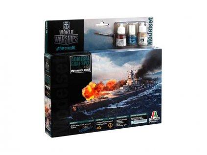 Italeri World of Warships Admiral Graf Spee (1:72)