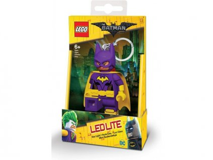 LEGO Batman Movie - Batgirl svíticí klíčenka