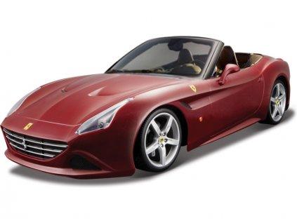 Bburago Ferrari California T 1:18 (otevř.) červená