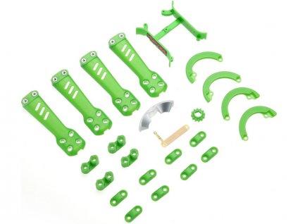 Blade Vortex 230 Pro: Plastové díly zelené