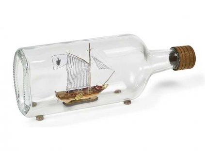 AMATI Golden Yacht 1:300 kit do láhve