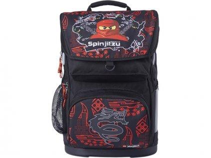 LEGO Ninjago Team Ninja Maxi - school briefcase, 2 piece set