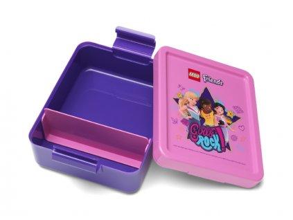 LEGO Ninjago snack box 170x135x69mm - red