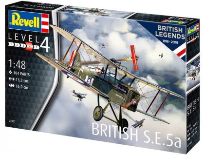 Revell British S.E. 5a (100 let RAF) (1:48)